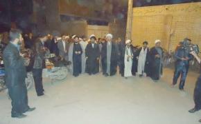 دیدار با مهاجرین اصفهان